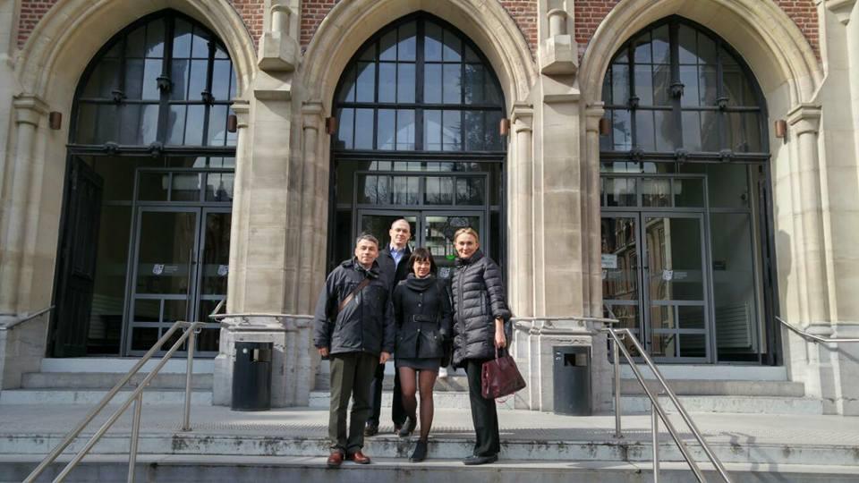 Проект Еразмус+: ЖДТУ-Вища школа м. Лілль (Франція)